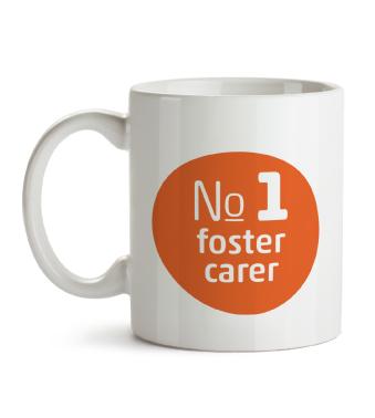 Mug - No.1 foster carer