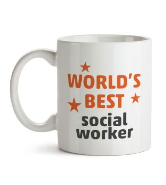 Mug - Worlds best social worker