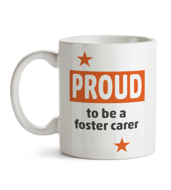 Mug - Proud to be a foster carer