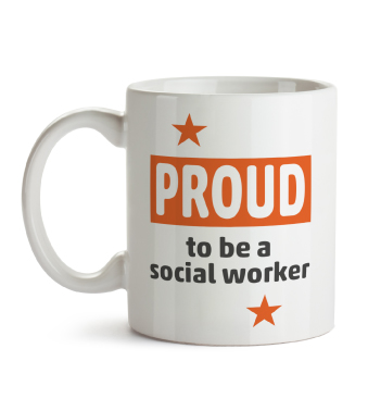 Mug - Proud to be a social worker