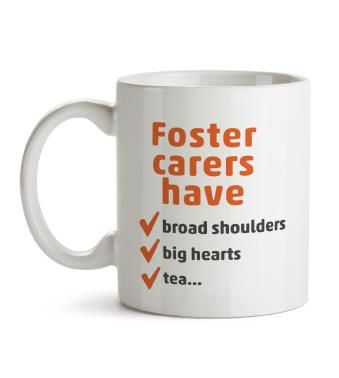 Mug - Foster carers have...tea