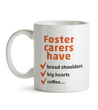 Mug - foster carers have...coffee