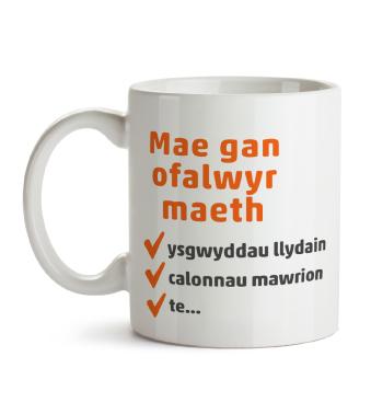 Mug - Foster carers have...tea (Welsh)