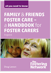 Family and Friends Foster Care – a handbook for foster carers - Pack of 10