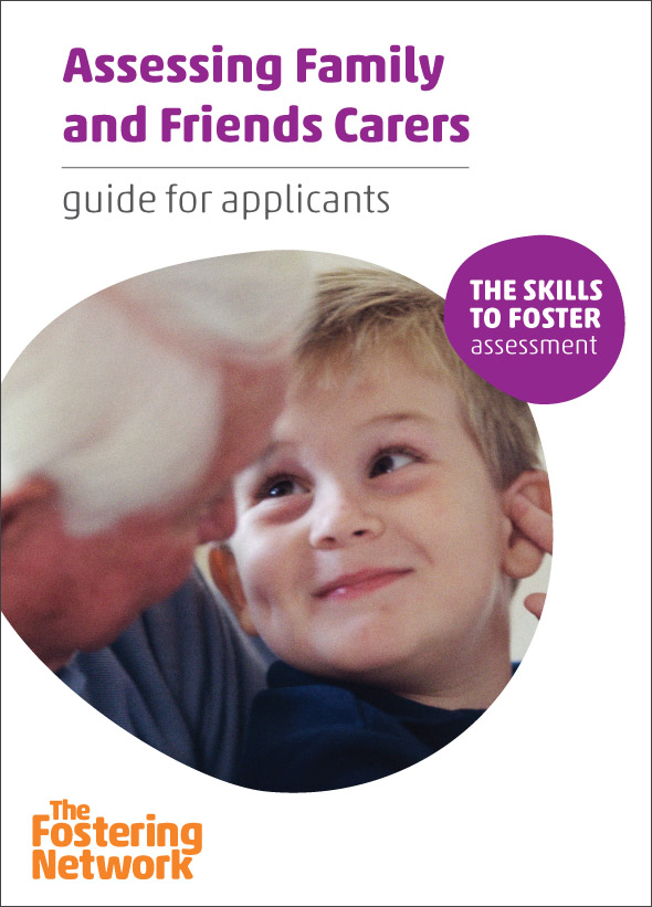 Assessing Family and Friends Carer: guide for applicants (pack of 10)  2015