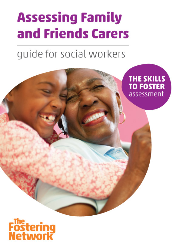 Assessing Family and Friends Carers: guide for social workers (pack of 5) 2015