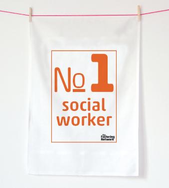 Tea Towel - no1 social worker