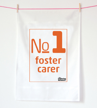 Tea Towel - no1 foster carer