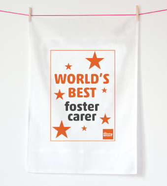 Tea Towel - World's best foster carer