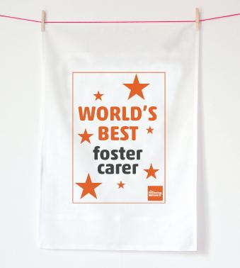 Tea Towel - World's best...