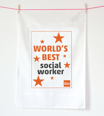 Tea Towel - World's best...