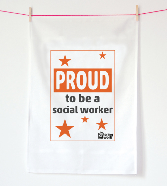 Tea Towel - Proud to be a social worker