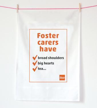 Tea Towel - Foster carers have...tea